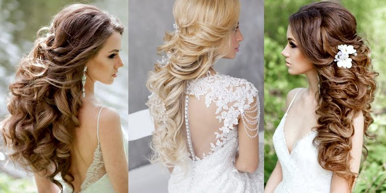 Gorgeous Ideas For A Wavy Bridal Hairstyle