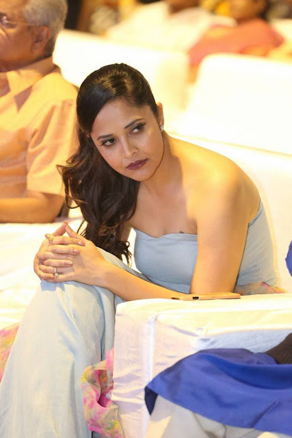 Anchor Anasuya Stills At Gayatri Movie Audio Launch