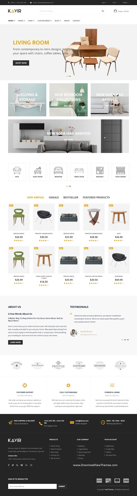 Download eCommerce Website Template