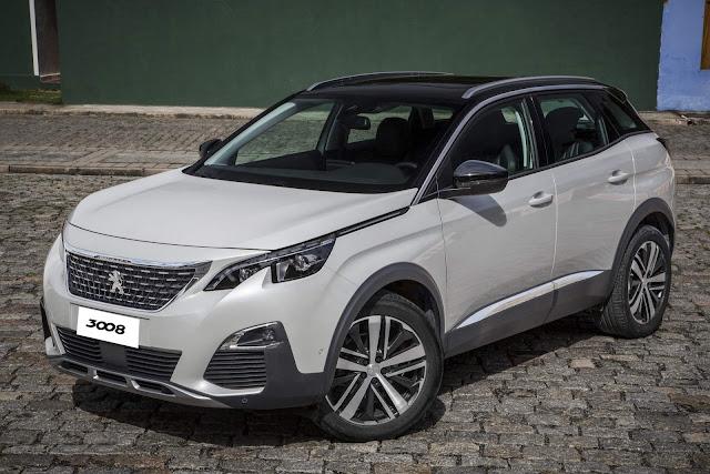 Peugeot 3008 2018 Griffe Pack chega por R$ 154.990 reais