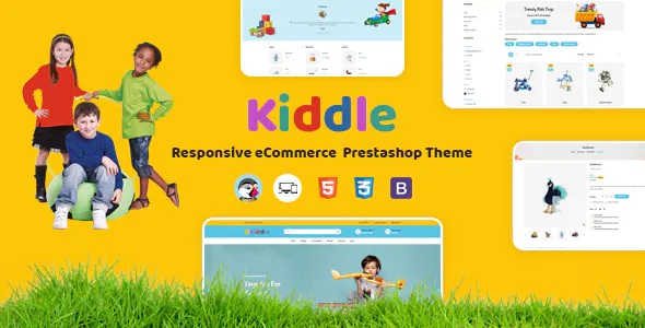 Best Kids Responsive Prestashop Theme