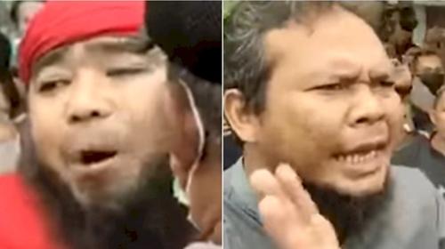 Terkuak, Pria Berjanggut Gembong Perusakan Masjid Ahmadiyah Sintang Ternyata Pentolan FPI