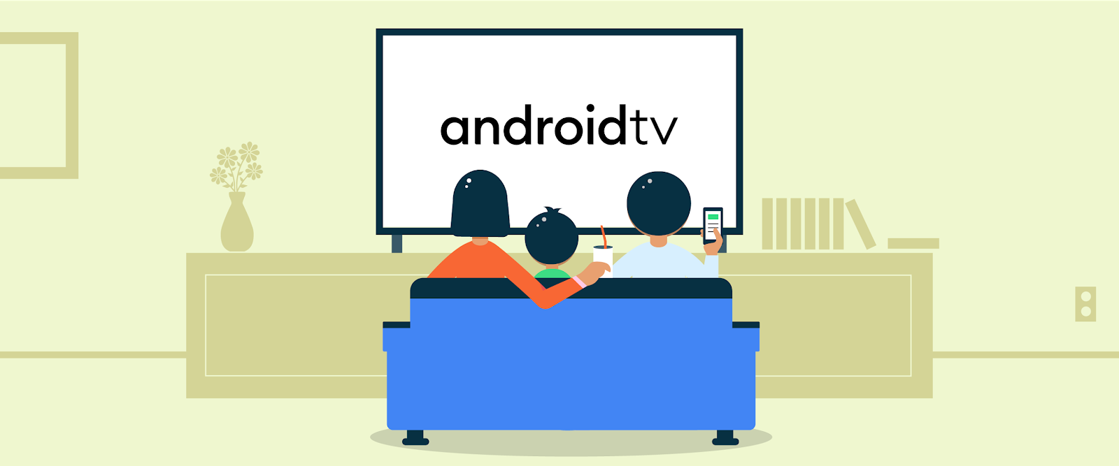 Android TV graphic