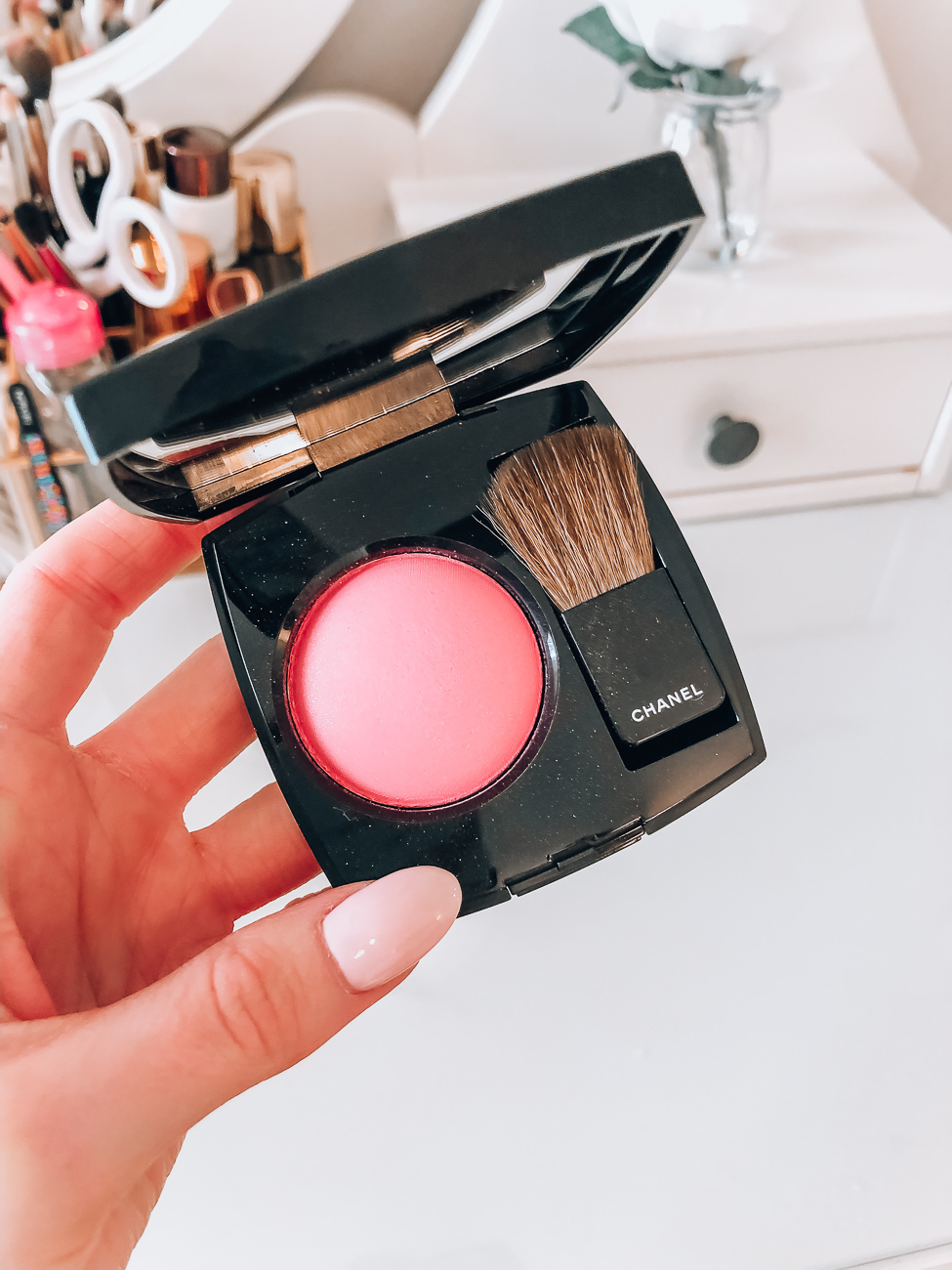 chanel blush pink explosion