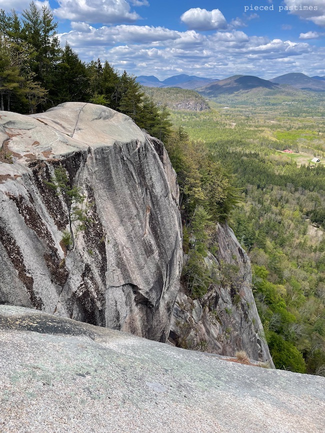 Cathedral Ledge in NH at Pieced Pastimes