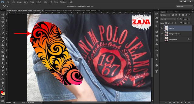 Cara Membuat Tato dengan Adobe Photoshop CS6