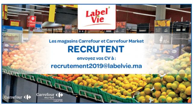 Campagne de Recrutement Label'Vie Maroc