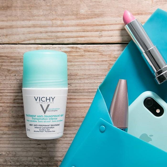 Vichy Deodorant - Khử mùi, hạn chế mùi hôi dưới cánh tay hiệu quả