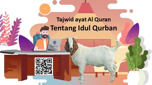 tajwid ayat Al Quran tentang kurban