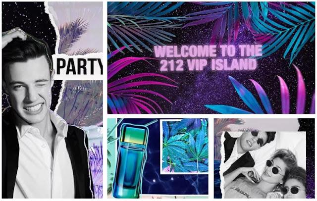 Reklama perfum Carolina Herrera 212 VIP Men Party Fever
