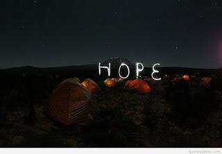 Hope Maketh Not Ashamed!