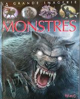 couverture de bd d'imagerie des monstres