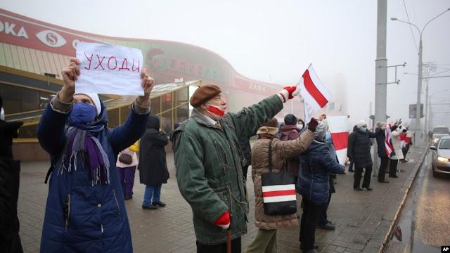 Tahan 500 Orang, Anais Marin Samakan Pemerintah Belarus dengan Negara Rezim Totaliter