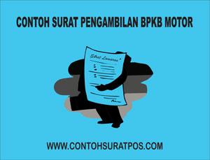 Gambar untuk Contoh Surat Kuasa Pengambilan BPKB Motor