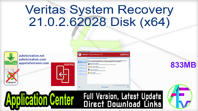 Veritas System Recovery 21.0.2.62028 Disk (x64)
