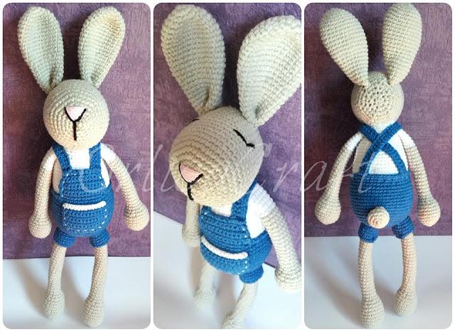 Bunny In Dungarees Free Amigurumi Patterns Bloglovin