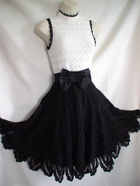 "Vestido Crochet ""Grease"""