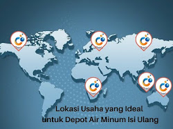 Lokasi Usaha yang Ideal untuk Depot Air Minum Isi Ulang
