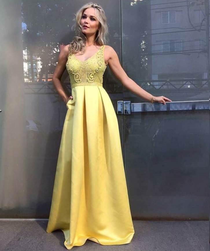 15 vestidos de festa amarelo da coleo vero 2017 madrinhas de vestido cosh thecheapjerseys Choice Image