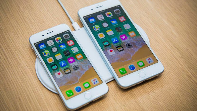 iPHONE 8 AND 8 PLUS WIRELESS CHARGING