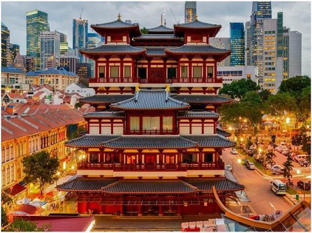 Những ngôi đền tuyệt đẹp ở Singapore