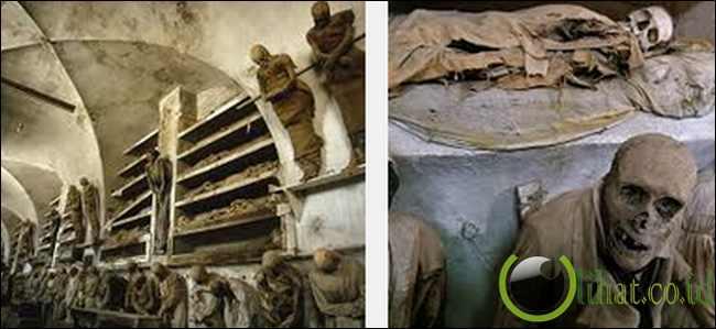 Capuchin Catacombs of Palermo, Italy