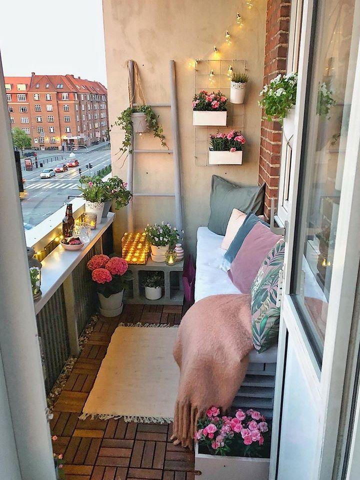 Beautifying Your Balcony, pretty balcony