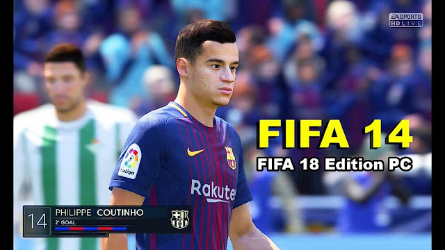 FIFA 14 PC Update Winter Squad 2018 - Coutinho To FCB