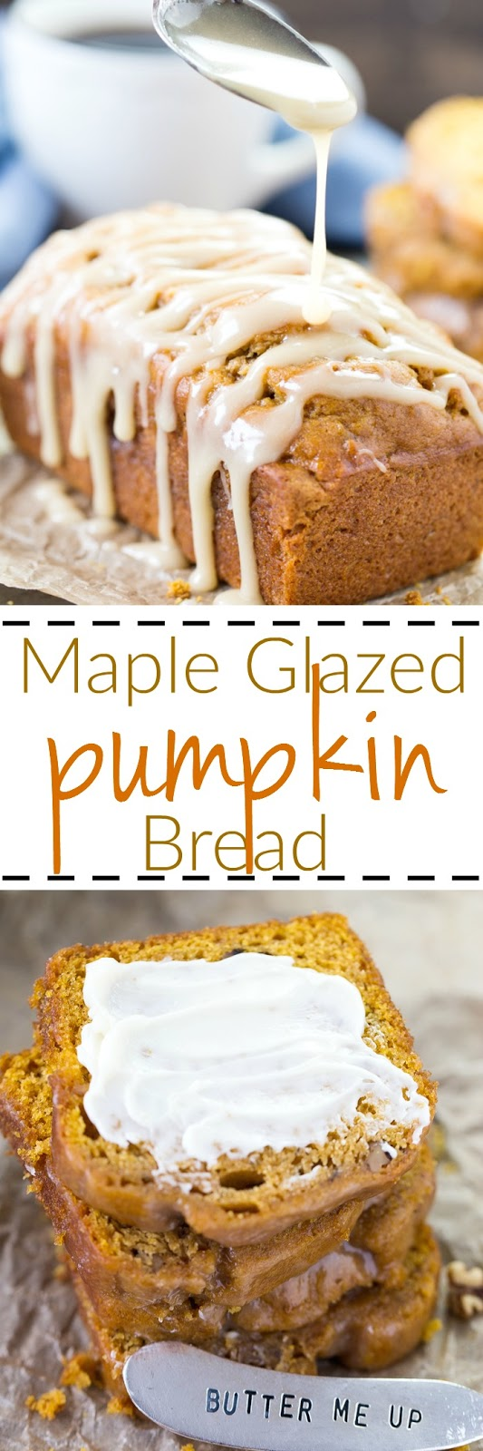 This easy pumpkin banana quick bread also contains walnuts and is super moist!  Perfect with your coffee or tea for fall or any time.
