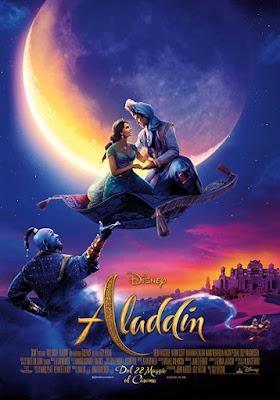 poster Aladdin 2019 Dual Audio HD 300Mb