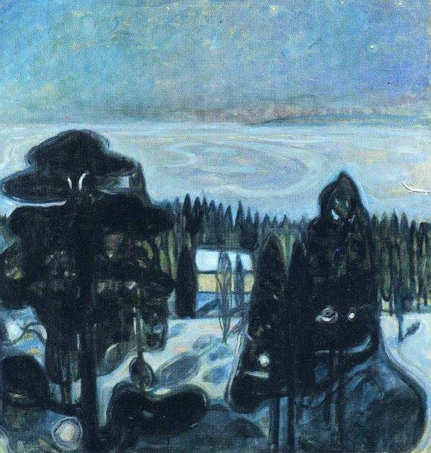 Эдвард Мунк - Белая ночь. 1901