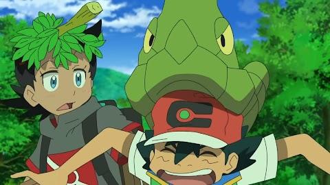 Pokemon Viajes capitulo 6 latino: ¡El camino de vuelta a Mew!