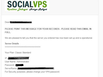 cara menggunakan social vps