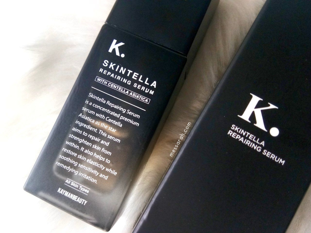 Kayman Beauty Skintella Repairing Serum Review