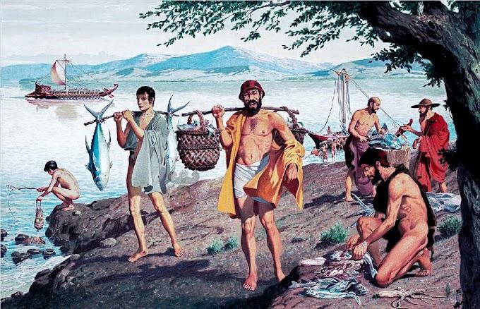 Τροφές των Ελλήνων κατά την αρχαιότητα -Ιχθυοφαγία στην αρχαία Ελλάδα