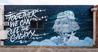 Darth Vader Baumhaus Mural und mehr   Kunstwerke von Wooden Wave