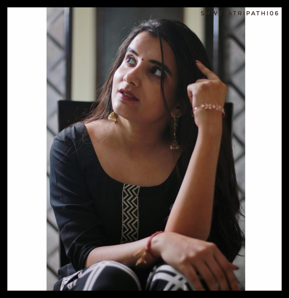 My journey from a studious person to a lifestyle digital creator by shweta tripathi