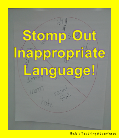 "Regardless of which elementary grade you teach, you can keep bad language at bay by using the ""stomp"" method outlined in this blog post. This teacher has had success using this in her Kindergarten, 4th, and 6th grade classroom - so you can be sure it'll work with your 1st, 2nd, 3rd, and 5th grade students as well. It's a great classroom management strategy that will work great during the first days of school. Let this back to school season be your best one yet!"