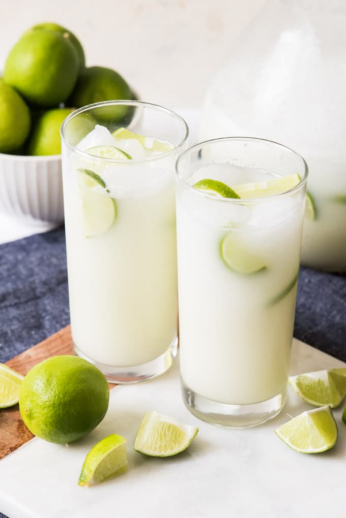 BRAZILIAN LEMONADE #drink #lemonade #healthyrecipe #cocktail #party