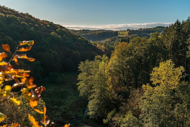 WesterwaldSteig 13. Etappe Flammersfeld – Horhausen | Klettersteig Hölderstein 01
