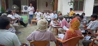 #JaunpurLive : महंगाई के मुद्दे को लेकर कांग्रेस जनता के बीच- बीजेपी की नीतियों पर हमला