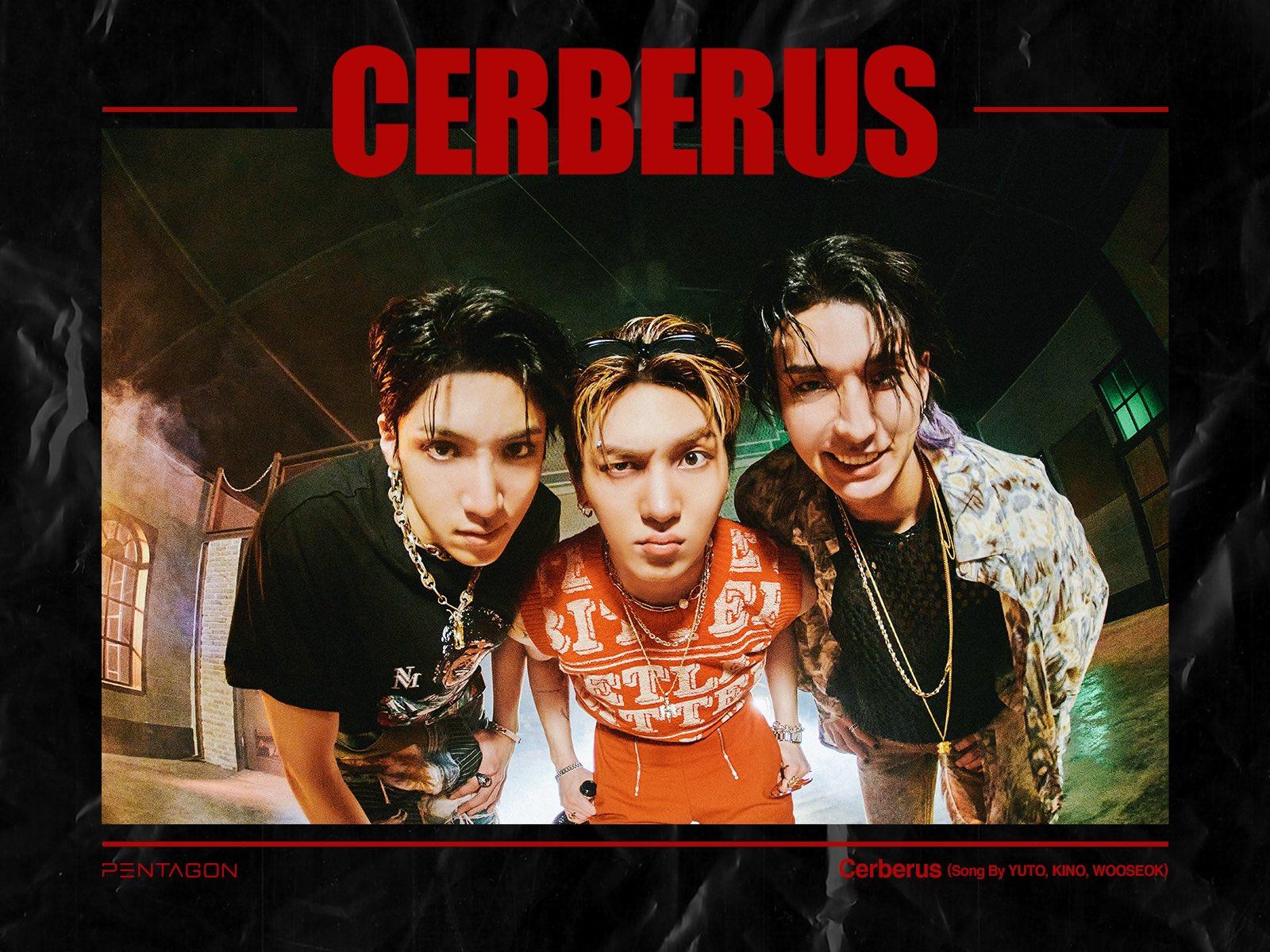 Yuto, Kino y Wooseok de Pentagon se unen para Cerberus