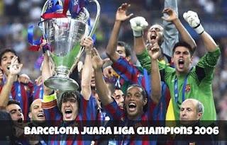 juara liga champion 2006