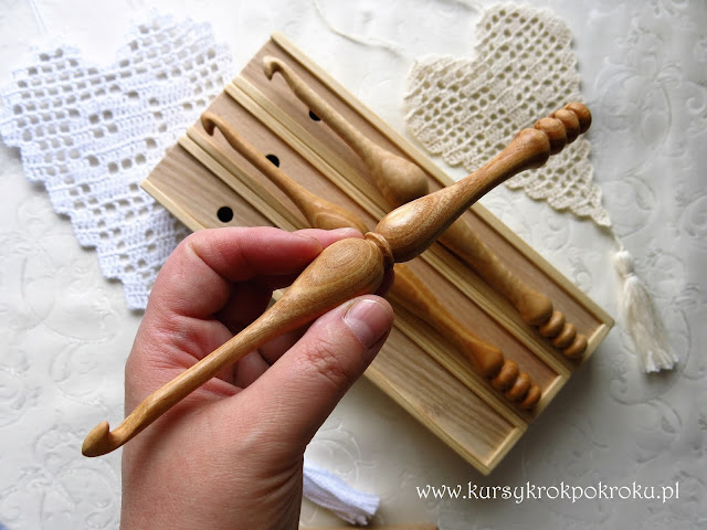 Szydełka drewniane - ergonomiczne i wyjątkowe 100% polskie rękodzieło