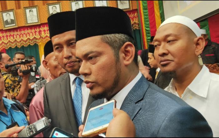 Pimpinan Defenitif DPRD Kota Pekanbaru Resmi Dilantik