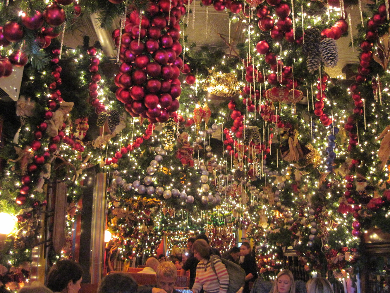 Christmas Restaurant Nyc.Christmas Decorations Nyc My Web Value