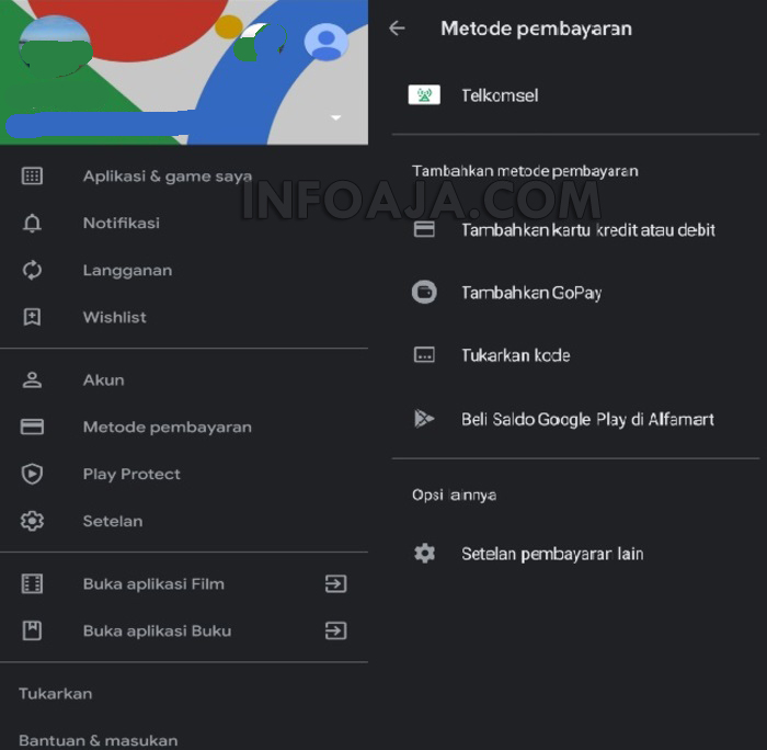 Cara Mengaktifkan GoPay Melalui Google Play Store