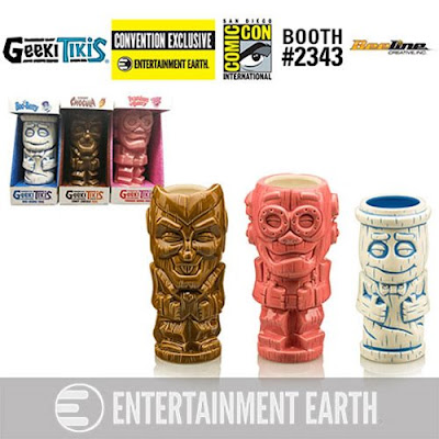 San Diego Comic-Con 2018 Exclusive Count Chocula, Franken Berry & Boo Berry Geeki Tikis by Beeline Creative x Entertainment Earth
