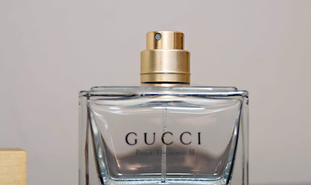 Gucci Pour Homme II atomizer od perfum