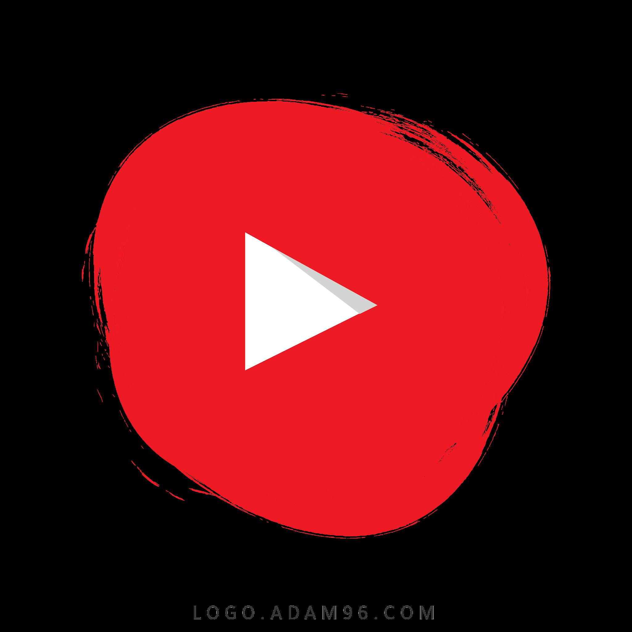 تحميل شعار يوتيوب شفاف Logo Youtube PNG